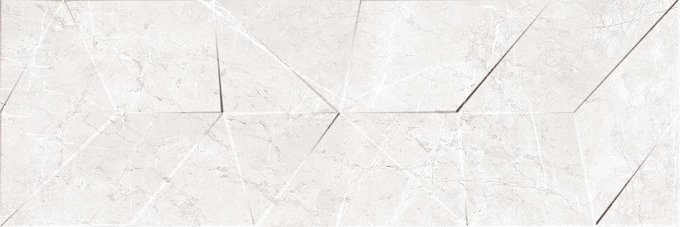 LONDRA WHITE MATT DECOR RECT. (40x120)