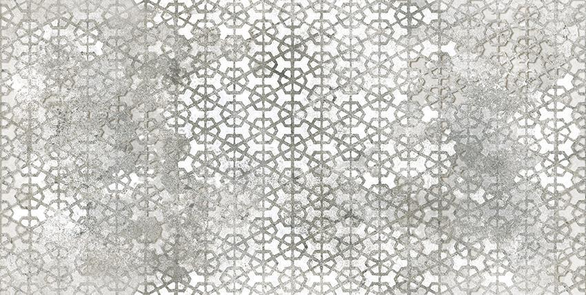 POMPEIA GREY DECOR MATT RECT. B (75x150)