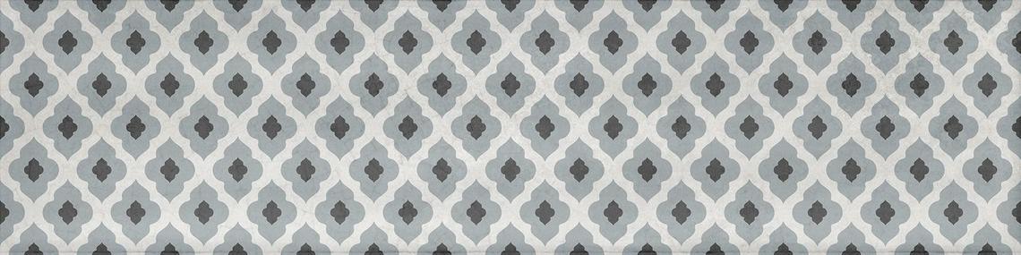 POEMA WHITE DECOR SHINY (7,5x30)