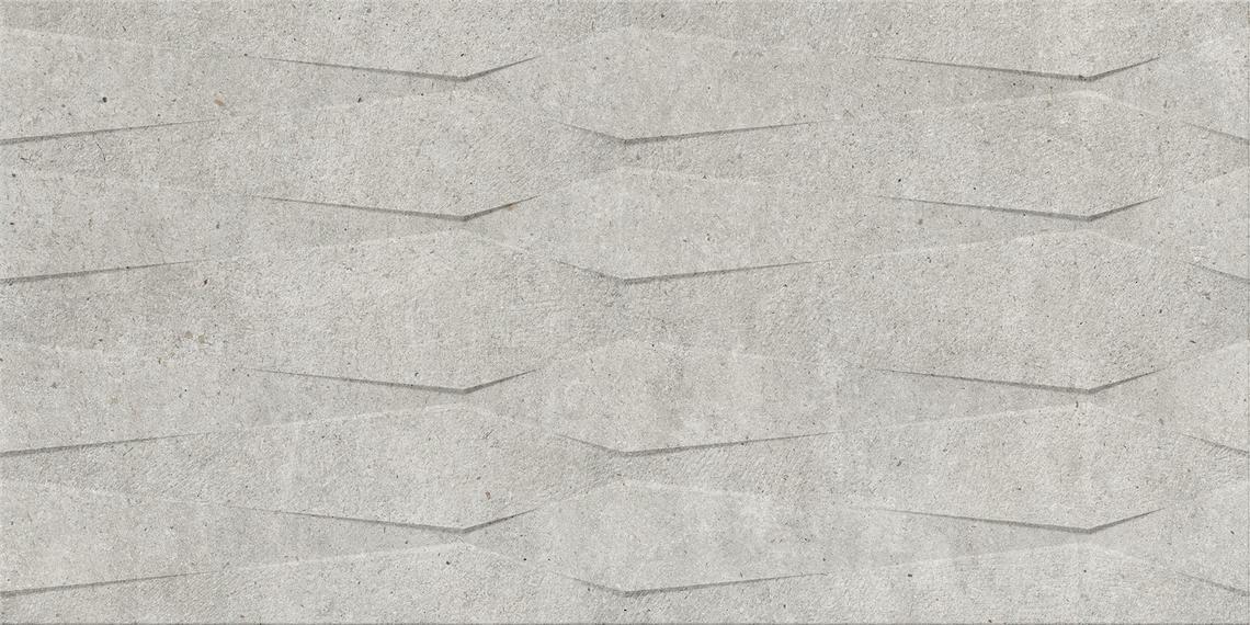 HERMES STEEL MATT DECOR RECT. (45x90)