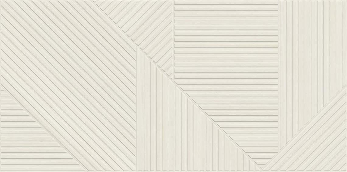 SOLEIL WHITE DECOR MATT RECT. (59,5x119,2)