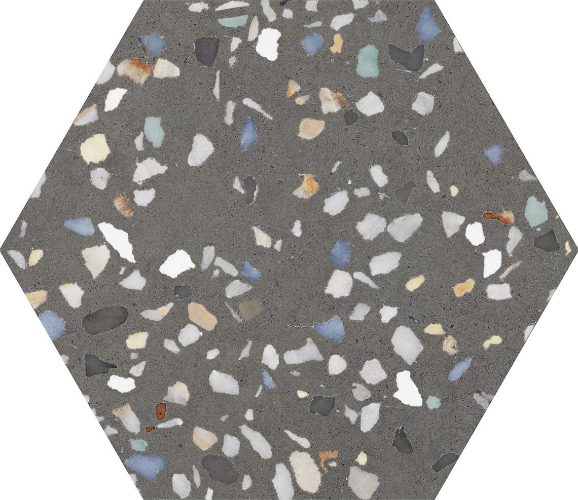 HEXA CEZANNE BLACK MATT (23x27)