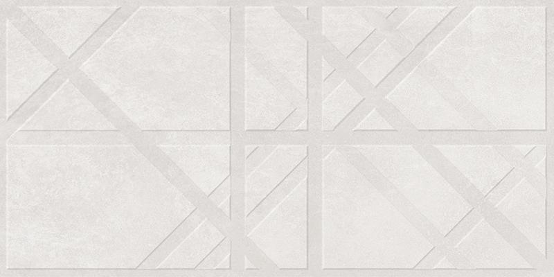 BRUGGE WHITE DECOR RECT. (45x90)