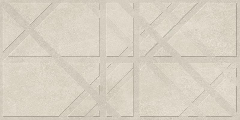 BRUGGE BEIGE DECOR RECT. (45x90)
