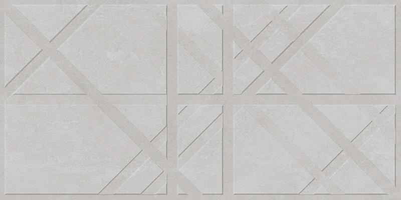 BRUGGE GREY DECOR RECT. (45x90)